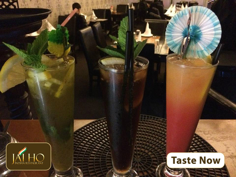 Enjoy Our Refreshing Cocktails and Mock-Tails This Summer | JAI HO INDIAN RESTAURANT | Scoop.it