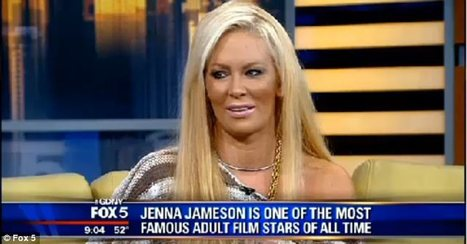 Ex-porn star Jenna Jameson's live TV interview cut off due to bizarre behaviour - Movie Balla | Daily News About Movies | Scoop.it