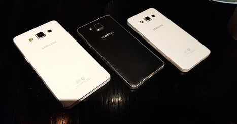 Samsung Galaxy A5 and A3 Thinnest Smartphones – Give a Quick Glimpse | All Mobile App Development Mart | Scoop.it