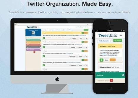 Organiza tweets para leerlos más tarde con Tweetbits - MuyComputer | Tecnología y Software | Scoop.it