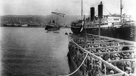 Octobre 1915 : un débarquement de troupes à Salonique - Mission du Centenaire | Centenaire Première Guerre mondiale - Académie de Rennes | Scoop.it