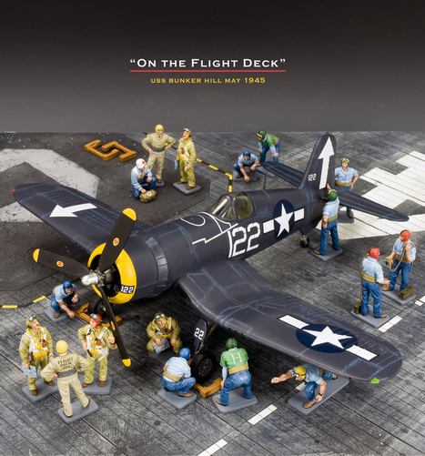 """on the flight deck"" 