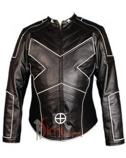 X Men Wolverine Origins Logan Black Leather Jacket | Celebrity Smashing Hugh Jackman leather jackets | Scoop.it