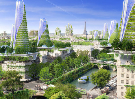 Paris en 2050 : les incroyables propositions de l'architecte Vincent Callebaut | Dans l'actu | Doc' ESTP | Scoop.it