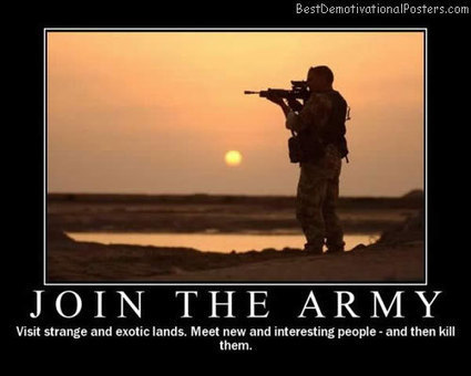 Join The Army | Demotivational Posters | Scoop.it