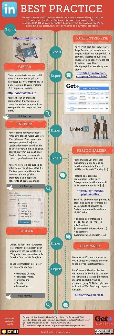 LinkedIn, l'outil incontournable pour le Marketeur B2B | Marketing et ... | OPTIMISER SA PRESENCE SUR LINKED IN VIA SCOOP.IT ET PHILIPPE TREBAUL | Scoop.it