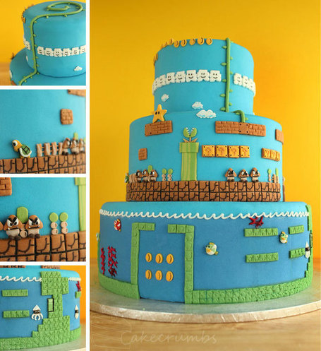 Super Mario Bros Cake | All Geeks | Scoop.it