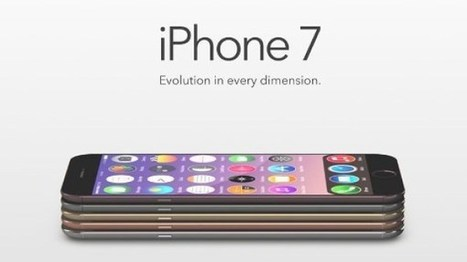 Truly Enticing: iPhone 7 Design Featuring Wireless Charging | Mobile Phone News, Reviews & Offers | Scoop.it