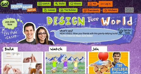 Design Squad Nation | Teaching and Technology | Scoop.it