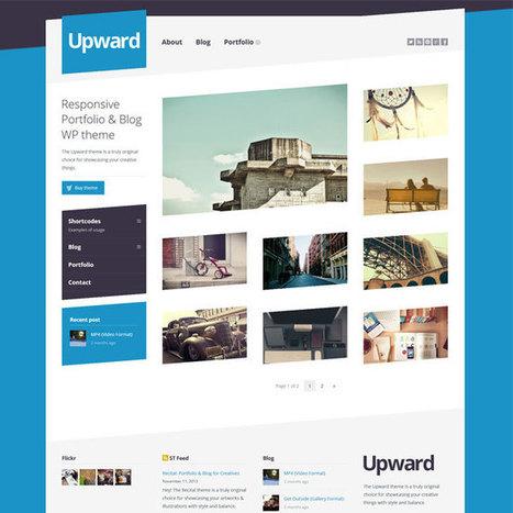 Upward WordPress Theme | WordPress Theme Download | Best WordPress Themes 2013 | Scoop.it