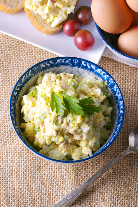 Smoked Trout and Egg Salad - Pescetarian Journal | Sustainable Seafood | Scoop.it