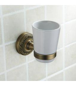 Wall Mounted Toothbrush Tumbler Holder in Antique Brass F413 | LED Bathroom Faucet | Scoop.it