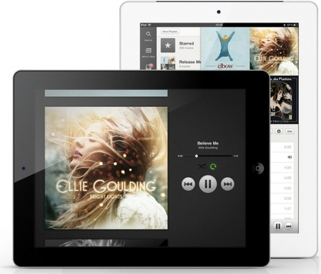 Spotify Releases iPad App at Last, with New Sonic Exploration Features   Music business   Scoop.it
