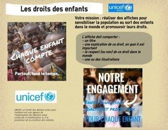 [Site Histoire Géographie Ed Civique ACADEMIE DE BESANCON] EMC 6e : réaliser une affiche sur les droits des enfants. | Revue de tweets | Scoop.it