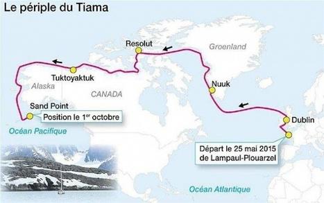 Passage du Nord-Ouest. L'exploit de quatre Finistériens ! #PNO #arctique #voilier | Hurtigruten Arctique Antarctique | Scoop.it