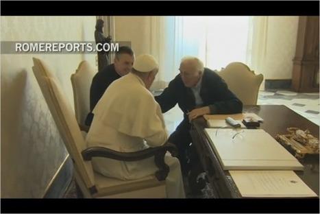 Jean Vanier a rencontré le Pape François | L'Arche en France | L'Arche, en France | Scoop.it