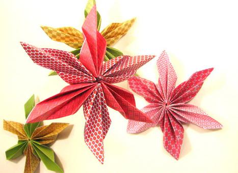 Les idees créatives - Etoiles en papier origami | DIY DIY | Scoop.it