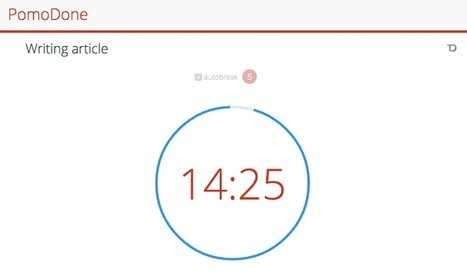 12 Pomodoro Timer Apps that Will Boost Your Productivity   IIC&Academic Writing   Scoop.it