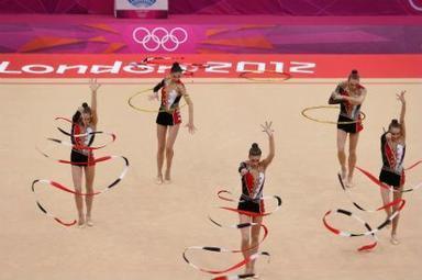 Rusia también gana oro en gimnasia rítmica | El Economista