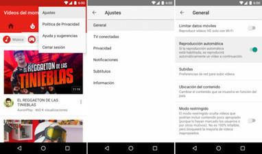 Cómo desactivar la reproducción automática de YouTube para Android | Recull diari | Scoop.it