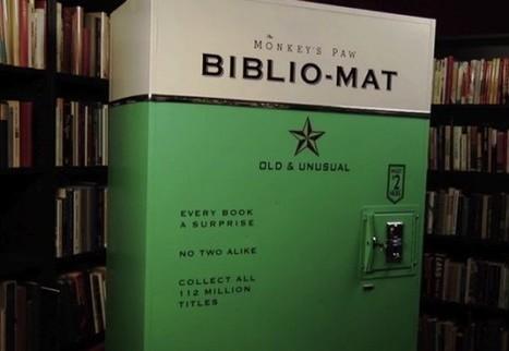 Biblio-Mat, le distributeur de livres d'occasion à Toronto | Trucs de bibliothécaires | Scoop.it
