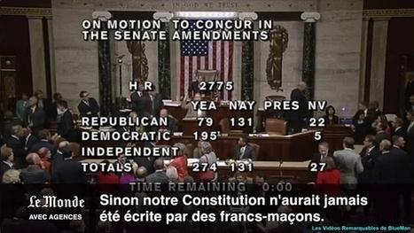 Une sténographe du Congrès américain prend le micro pour dénoncer la franc-maçonnerie | Autres Vérités | Scoop.it