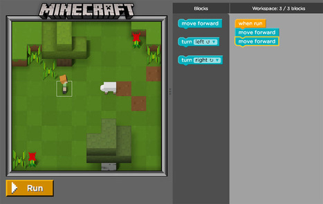 The Hour of Code : Now with added Minecraft   Games and education   Scoop.it
