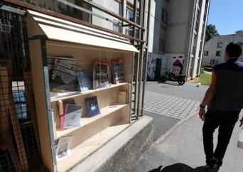 Besançon : le Réservoir, un petit coin de lecture et d'évasion, en plein air | librairies et bibliothèques | Scoop.it