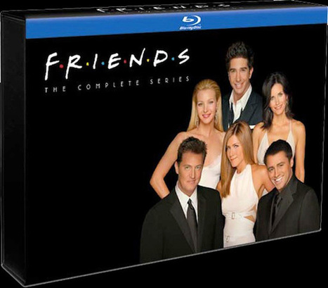 FRIENDS Complete Series Blu-Ray - South Florida Movie Reviews by I Rate Films | Film reviews | Scoop.it