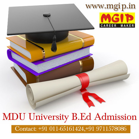 MDU University B.Ed Admission Eligibility | MDU B.Ed Admission | Scoop.it
