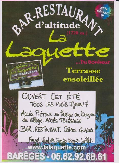Pyrénées – Barèges : Le restaurant d'altitude de la Laquette est ouvert | Barèges | Scoop.it