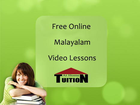 Learn Malayalam quick to read,write and speak in 7 days... | Online Tutoring | Math, English, Science Tutoring | Scoop.it