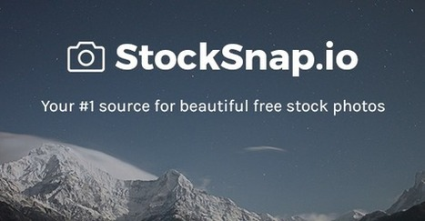 StockSnap.io - Beautiful Free Stock Photos (CC0) | immersive media | Scoop.it