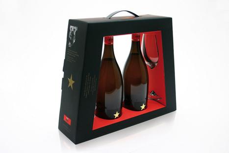 와인 포장킷~ 선물 셋트로 구성할때 좋겠네요.- Creative Package Design : Estrella Damm Inedit | Food Life Story | Scoop.it