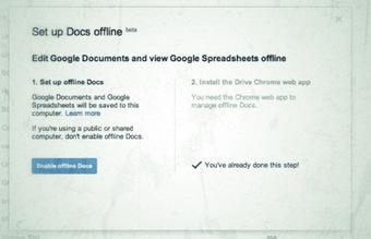Google Docs / Drive ahora funciona offline para editar y crear documentos! | Utilidades TIC para el aula | Scoop.it