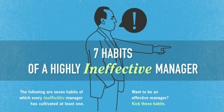 7 Habits of a Highly Ineffective Manager | Visual.ly | Pedalogica: educación y TIC | Scoop.it