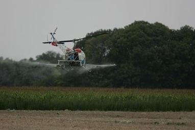 Epandage aérien, pourquoi des agriculteurs disent stop   Inspirons-nous : santé-environnement, les bonnes idées pour agir!   Scoop.it