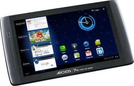 Archos 70b Internet Tablet: 199 USD Android 3.2 Tablet | Embedded Systems News | Scoop.it