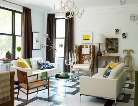 Why Every Room Needs A Dose Of Pattern | Designing Interiors | Scoop.it