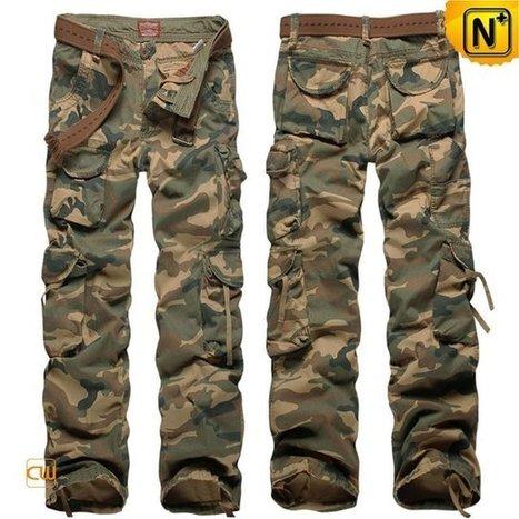 Birmingham Mens Camouflage Pants Work Pants CW140326 | Leather Blazer Jacket | Scoop.it