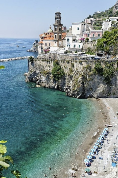 Beach at the Amalfi Coast | Italia Mia | Scoop.it