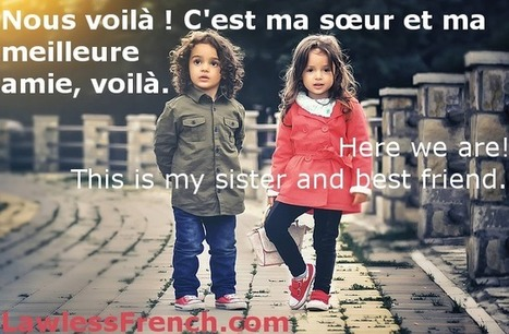 Voilà - Learn French at Lawless French   French and France   Scoop.it