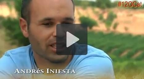 Nació Digital: Iniesta desautoritza la utilització de la seva imatge pel 12-O | Apunts de Salvador Guinart | Scoop.it