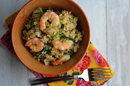 Cara's Cravings » Slow Cooker Shrimp and Artichoke Barley Risotto | Really interesting recipes | Scoop.it