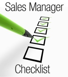 Priority Checklist: Are You a Proactive or Reactive Sales Manager? - Business 2 Community | Sales Excellence | Scoop.it