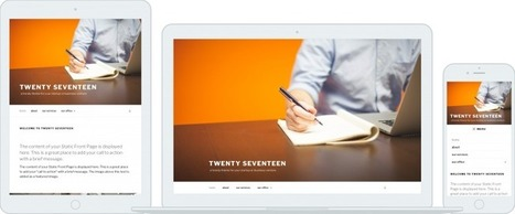 Say hello to twenty seventeen wordpress theme - Programming Blog | Web tutorials | Scoop.it