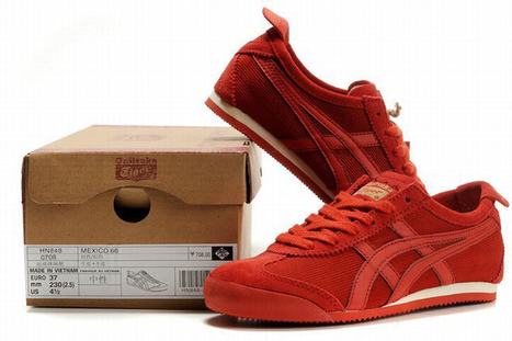 Asics Mexico 66 Red Men's | my want collection | Scoop.it