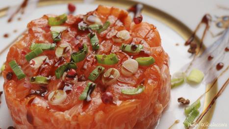 Plated :: Salmon Tartare | @FoodMeditations Time | Scoop.it
