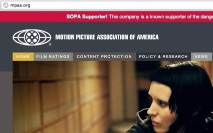 No SOPA Chrome extension helps inform you while you browse | New Digital Media | Scoop.it