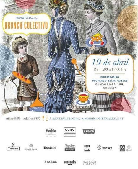 Brunch colectivo en el Corredor Cultural Roma Condesa   14º CORREDOR CULTURAL ROMA-CONDESA   Scoop.it